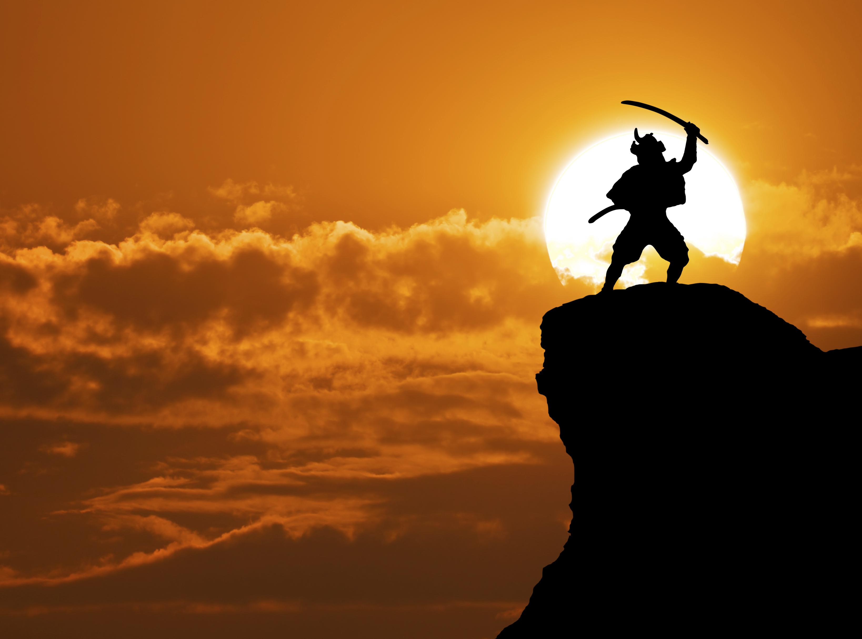 Образ самурая в японской культуре: путь от варвара до
