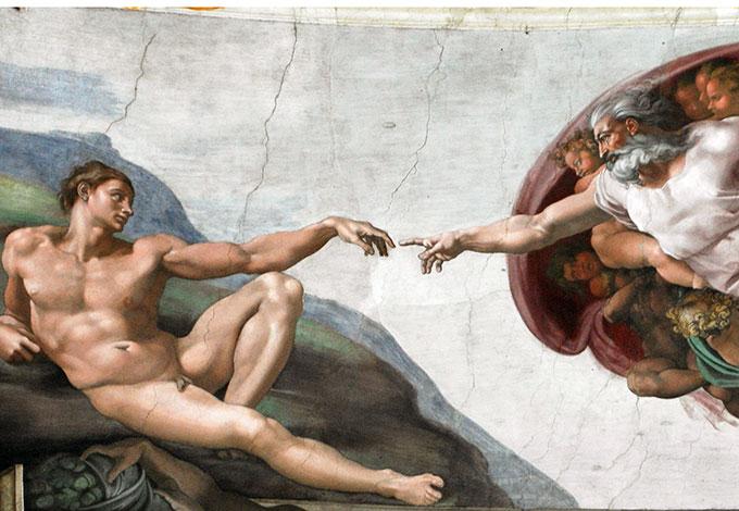 О чем говорит эта картина? «Сотворение Адама» Микеланджело Буонарроти —  Магистерская программа «Психоанализ и психоаналитическое  бизнес-консультирование» — Национальный исследовательский университет  «Высшая школа экономики»