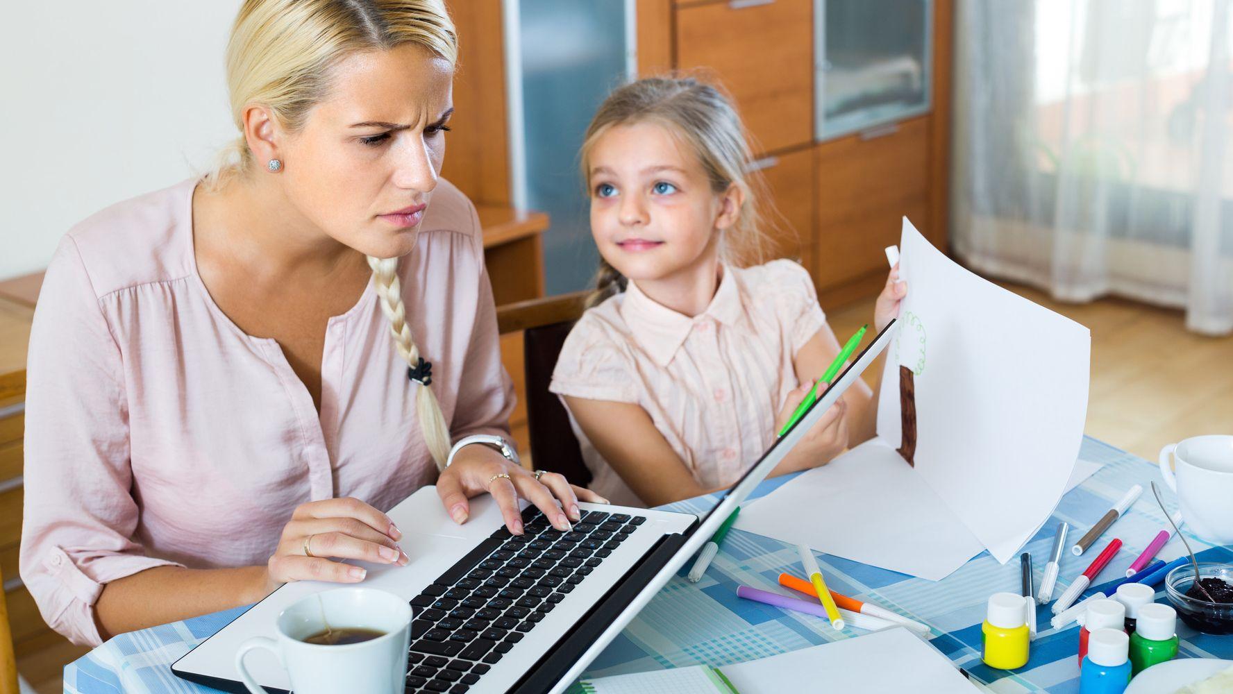 Семья и удаленная работа работа удаленное администрирование сайтов