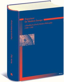 Departure for Modern Europe: a Handbook of Early Modern Philosophy