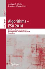 Algorithms - ESA 2014. 22th Annual European Symposium, Wrocław, Poland, September 8-10, 2014. Proceedings