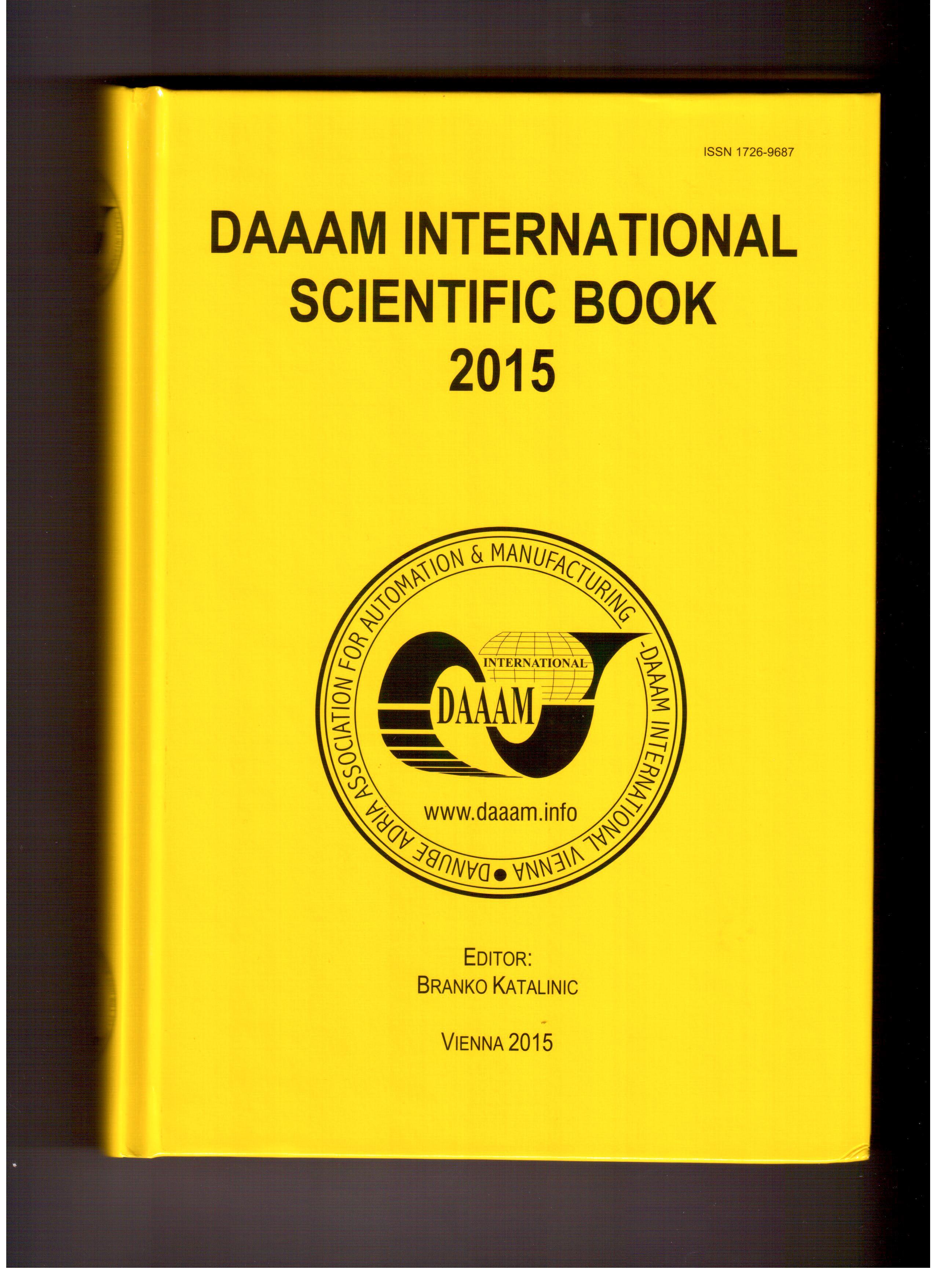 DAAAM International Science Book 2015