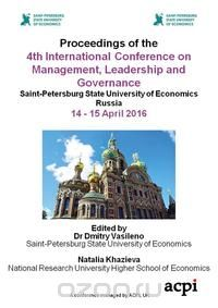 Proceedings of the 4th International Conference on Management, Leadership and Governance, ICMLG 2016. 16-17 March 2017, Johannesburg, South Africa