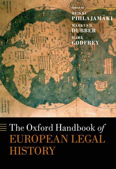 Oxford European Legal History Handbook