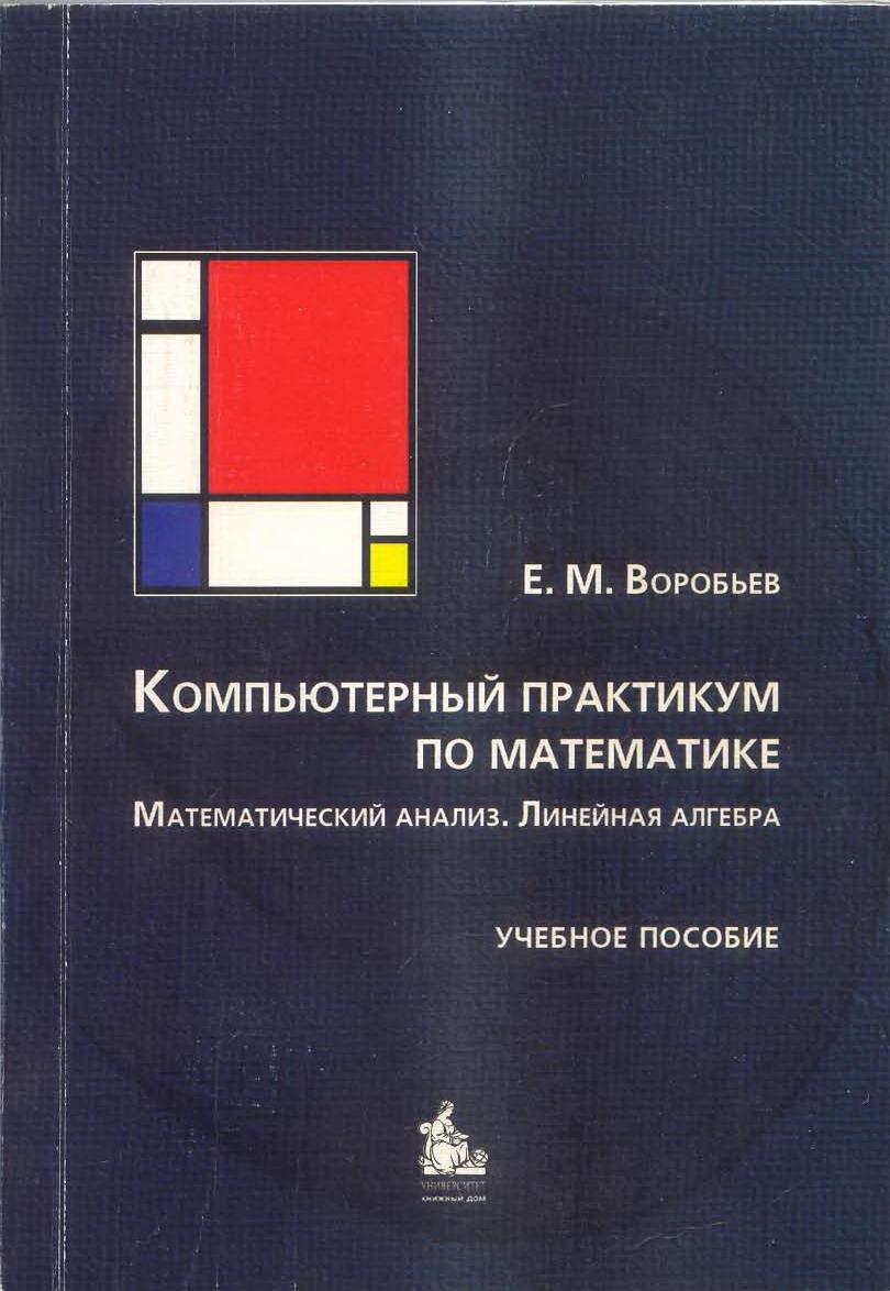 Компьютерный практикум по математике. Математический анализ. Линейная алгебра