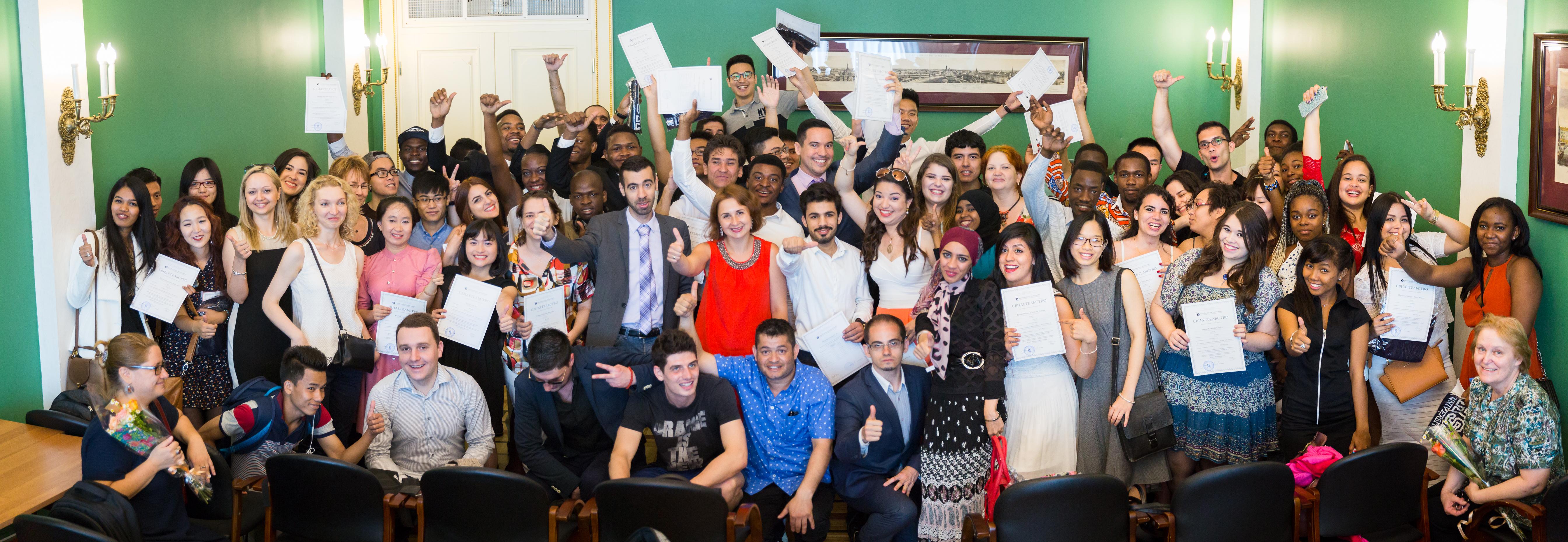 Graduates of HSE Preparatory Year Programme