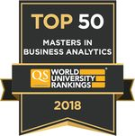 QS Business Master's Ranking (Business Analytics)