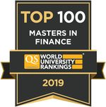QS Business Masters Rankings: Finance, 2018/2019