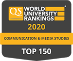 QS Rankings by subject, Communication & Media Studies
