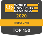 QS Rankings by subject, Philosophy