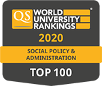 QS Rankings by subject, Social Policy & Administration