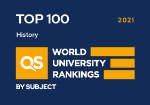 QS Rankings by subject, History