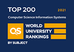 QS Rankings by subject, Computer Science & Information Systems